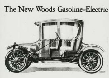 First Hybrid Car - Woods Dual Power Model 44 Coupe
