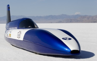Electric Blue - World's Fastest Electric Car built by BYU students
