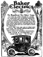 Baker Electric Car Ad