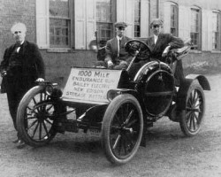 Baker Electric Car and Thomas Edison