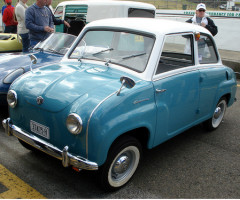 Goggomobil Microcars - Built in Germany and Australia 1955-1969