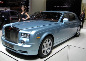 Rolls Royce 102EX Electric Car