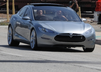 Telsa Model S Electric Car