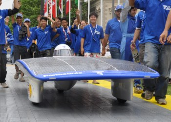 Tokai Challenger - Winner of the World Solar Challenge