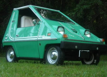 Red Citicar Electric Car The 1970 S