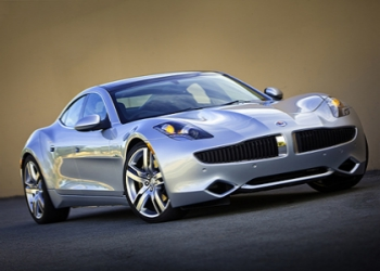 Justin Bieber and his Karma Fisker